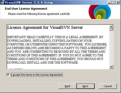 SVN服务器搭建和使用